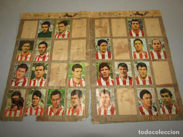 Coleccionismo deportivo: Antiguo Álbum Campeonato de Liga 1966 1967 , FHER DISGRA - Foto 2 - 152364354