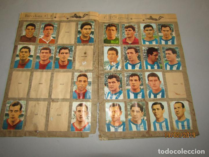 Coleccionismo deportivo: Antiguo Álbum Campeonato de Liga 1966 1967 , FHER DISGRA - Foto 3 - 152364354