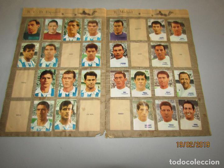 Coleccionismo deportivo: Antiguo Álbum Campeonato de Liga 1966 1967 , FHER DISGRA - Foto 4 - 152364354