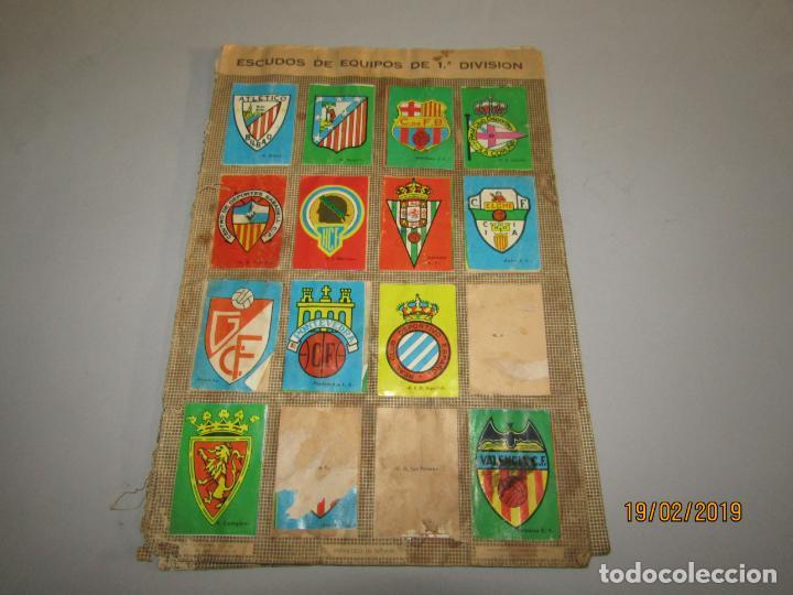 Coleccionismo deportivo: Antiguo Álbum Campeonato de Liga 1966 1967 , FHER DISGRA - Foto 6 - 152364354