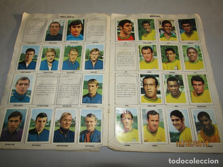 ANTIGUO ALBUM ASES DEL IX MUNDIAL DE FUTBOL EN MEXICO 1970 DE FHER DISGRA (Coleccionismo Deportivo - Álbumes y Cromos de Deportes - Álbumes de Fútbol Incompletos)