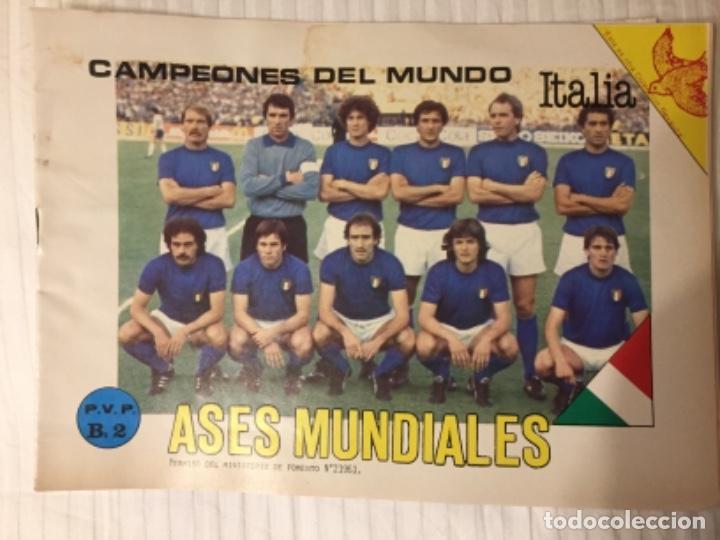 ÁLBUM VACÍO ASES MUNDIAL 82 (Coleccionismo Deportivo - Álbumes y Cromos de Deportes - Álbumes de Fútbol Incompletos)