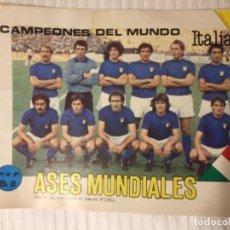 Coleccionismo deportivo: ÁLBUM VACÍO ASES MUNDIAL 82. Lote 163621766