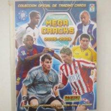 Coleccionismo deportivo: ALBUM MEGA CRACKS 2005-2006 CON 284 CROMOS. Lote 153532842