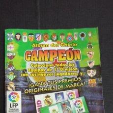 Coleccionismo deportivo: ÁLBUM DEL CHICLE CAMPEÓN 1996/1997 96 97 - CONTIENE 25 CROMOS. Lote 153562718