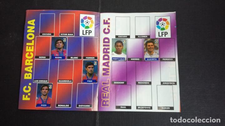 Coleccionismo deportivo: ÁLBUM DEL CHICLE CAMPEÓN 1996/1997 96 97 - CONTIENE 25 CROMOS - Foto 2 - 153562718