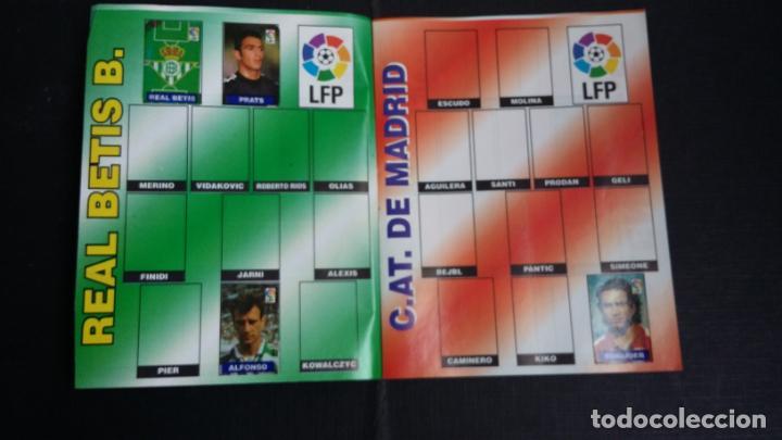 Coleccionismo deportivo: ÁLBUM DEL CHICLE CAMPEÓN 1996/1997 96 97 - CONTIENE 25 CROMOS - Foto 3 - 153562718