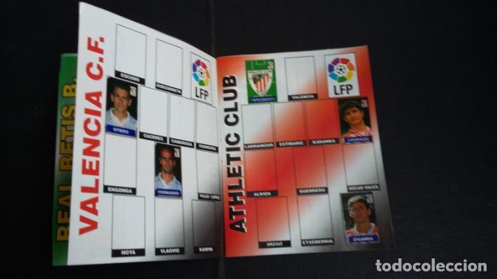 Coleccionismo deportivo: ÁLBUM DEL CHICLE CAMPEÓN 1996/1997 96 97 - CONTIENE 25 CROMOS - Foto 4 - 153562718
