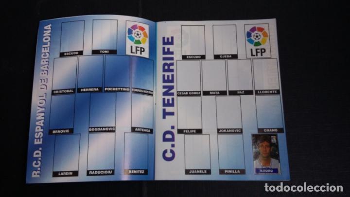 Coleccionismo deportivo: ÁLBUM DEL CHICLE CAMPEÓN 1996/1997 96 97 - CONTIENE 25 CROMOS - Foto 5 - 153562718