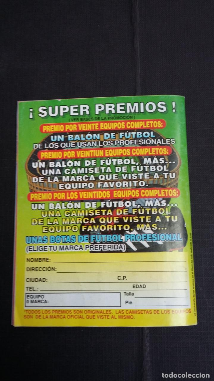 Coleccionismo deportivo: ÁLBUM DEL CHICLE CAMPEÓN 1996/1997 96 97 - CONTIENE 25 CROMOS - Foto 13 - 153562718
