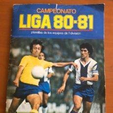 Coleccionismo deportivo: ESTE 80 81 BUEN ESTADO CON 243 CROMOS. Lote 153661322