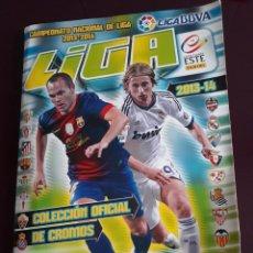 Coleccionismo deportivo: ALBUM DE CROMOS DE LIGA 2013-14 13 - 14 EDICIONES ESTE - CASI COMPLETO. Lote 154573738