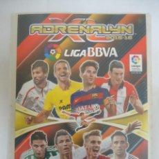 Coleccionismo deportivo: ALBUM DE CROMOS INCOMPLETO ADRENALYN 2015-16. LIGA BBVA TRADING CARD GAME DE PANINI. Lote 154597122