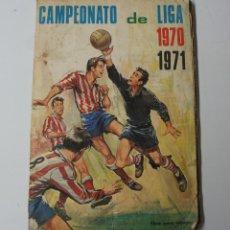 Coleccionismo deportivo: ALBUM DE CROMOS CAMPEONATO DE LIGA 1970 -71- FALTAN 6 CROMOS.. Lote 154784234