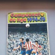 Coleccionismo deportivo: ALBUM FHER DISGRA 74 75 1974 1975 CON MUCHOS FICHAJES LEER. Lote 135665187