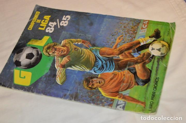 ALBUM DE FUTBOL - GOL - CAMPEONATO DE LIGA 84 / 85 - EDITORIAL MAGA -- ENVÍO 24H (Coleccionismo Deportivo - Álbumes y Cromos de Deportes - Álbumes de Fútbol Incompletos)