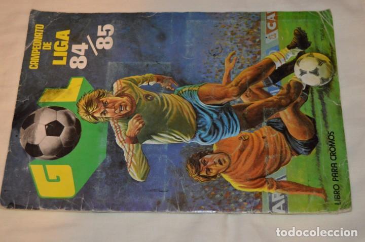Coleccionismo deportivo: ALBUM DE FUTBOL - GOL - CAMPEONATO DE LIGA 84 / 85 - EDITORIAL MAGA -- ENVÍO 24H - Foto 2 - 155019722