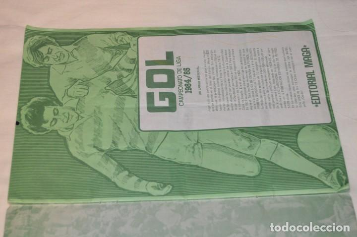 Coleccionismo deportivo: ALBUM DE FUTBOL - GOL - CAMPEONATO DE LIGA 84 / 85 - EDITORIAL MAGA -- ENVÍO 24H - Foto 5 - 155019722