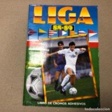Coleccionismo deportivo: LIGA 88/89. ÁLBUM DE CROMOS EDICIONES ESTE A FALTA DE 4 CROMOS POR COMPLETAR. VER EN DESCRIPCIÓN.. Lote 155106310