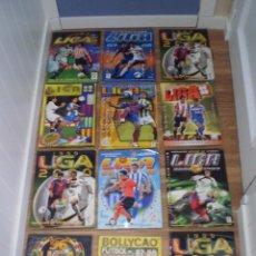 Coleccionismo deportivo: LOTE DE 12 ALBUMES ALBUM DE FUTBOL LEER DESCRIPCION. Lote 155216790