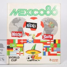Coleccionismo deportivo: ÁLBUM DE CROMOS INCOMPLETO - MUNDIAL DE FÚTBOL MÉXICO 86 - FALTAN 4 CROMOS - ED. PANINI, 1986. Lote 155234714