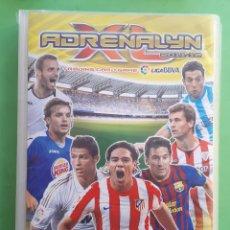 Coleccionismo deportivo: ALBUM ADRENALYN INCOMPLETO 2011 12. Lote 176296242
