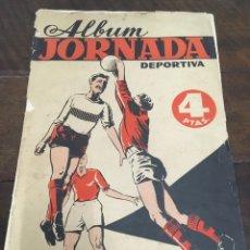 Coleccionismo deportivo: ÁLBUM DE CROMOS JORNADA DEPORTIVA 1960 COMPLETO A FALTA DE 6 CROMOS. Lote 155261470