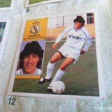 Coleccionismo deportivo: ESTE LIGA 1992 1993 92 93 ZAMORANO Y 1981 1982 81 82 GARCÍA TRAID INCOMPLETO. REGALO GOL 84 85 MAGA.. Lote 155273638