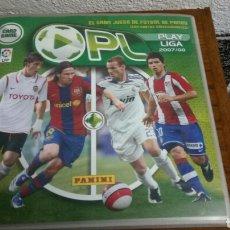 Coleccionismo deportivo: CARD GAME PLAY LIGA 2007/08 ALBUM INCOMPLETO MUCHOS REPES. Lote 155296760