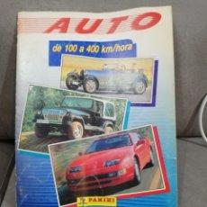 Coleccionismo deportivo: ALBUM AUTO DE 100 A 400 (FALTAN 14 CROMOS). Lote 155362874