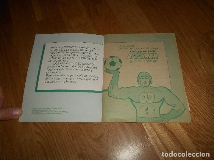 Coleccionismo deportivo: ALBUM CHICLE FUTBOL BOOMER LOS MEJORES DEL MUNDO FALTAN 8 CROMOS DE 80 - Foto 2 - 155406922