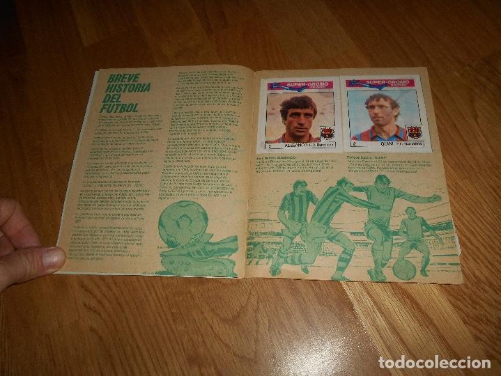 Coleccionismo deportivo: ALBUM CHICLE FUTBOL BOOMER LOS MEJORES DEL MUNDO FALTAN 8 CROMOS DE 80 - Foto 3 - 155406922
