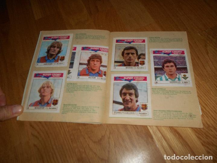 Coleccionismo deportivo: ALBUM CHICLE FUTBOL BOOMER LOS MEJORES DEL MUNDO FALTAN 8 CROMOS DE 80 - Foto 4 - 155406922