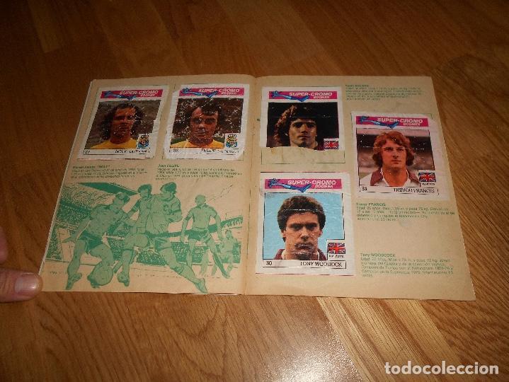 Coleccionismo deportivo: ALBUM CHICLE FUTBOL BOOMER LOS MEJORES DEL MUNDO FALTAN 8 CROMOS DE 80 - Foto 8 - 155406922