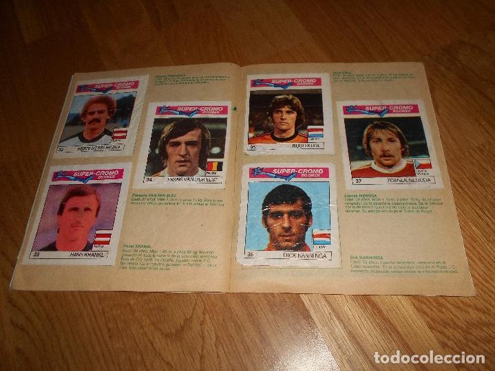 Coleccionismo deportivo: ALBUM CHICLE FUTBOL BOOMER LOS MEJORES DEL MUNDO FALTAN 8 CROMOS DE 80 - Foto 9 - 155406922