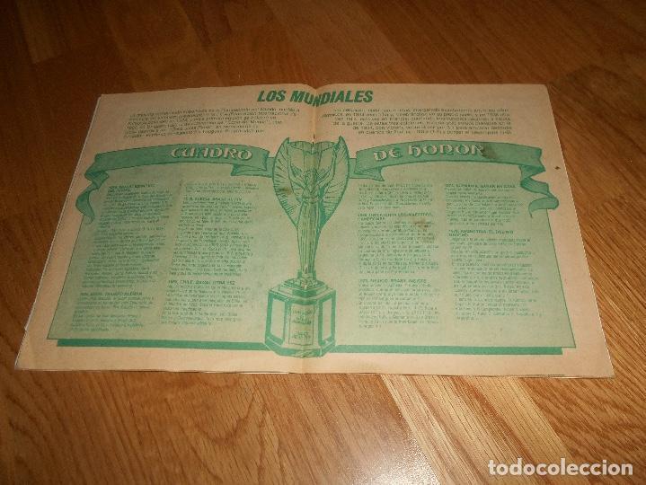 Coleccionismo deportivo: ALBUM CHICLE FUTBOL BOOMER LOS MEJORES DEL MUNDO FALTAN 8 CROMOS DE 80 - Foto 10 - 155406922