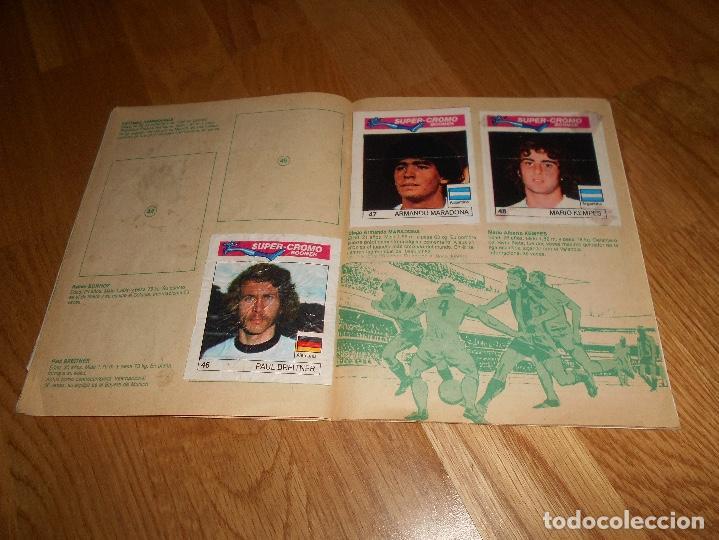 Coleccionismo deportivo: ALBUM CHICLE FUTBOL BOOMER LOS MEJORES DEL MUNDO FALTAN 8 CROMOS DE 80 - Foto 12 - 155406922
