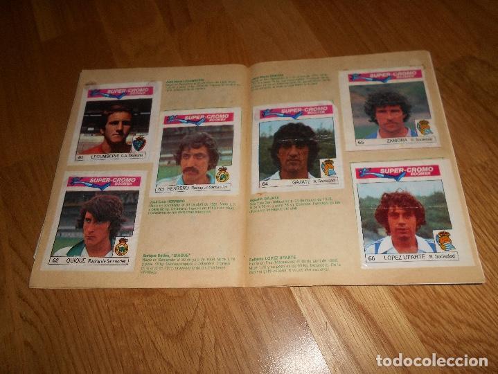 Coleccionismo deportivo: ALBUM CHICLE FUTBOL BOOMER LOS MEJORES DEL MUNDO FALTAN 8 CROMOS DE 80 - Foto 15 - 155406922
