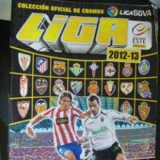Coleccionismo deportivo: ALBUM DE CROMOS DE FUTBOL , LIGA 2012 - 2013 . EDICIONES ESTE . CON 124 CROMOS PEGADOS. Lote 155545194