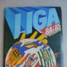 Coleccionismo deportivo: ALBUM CROMOS CAMPEONATO LIGA 84/85. . CON 87 DOBLES, BAJAS, COLOCAS. Lote 155614530