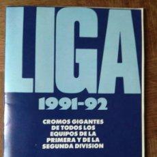 Coleccionismo deportivo: LIGA 1991-92 & ESCUELA DE FUTBOL GENTO - FALTAN 17 CROMOS DE 120 - 1991 AS- . Lote 155663462