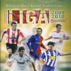 Coleccionismo deportivo: LOTE CARDS OFFICIAL QUIZ GAME MUNDICROMO LIGA 2010 (TEMPORADA 2009-2010). 270 CROMOS. VER FOTOS. Lote 155712622