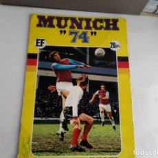Coleccionismo deportivo: ANTIGUO ALBUM DE CROMOS MUNICH 74 . Lote 155787834