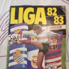 Coleccionismo deportivo: ÁLBUM EDICIONES ESTE TEMPORADA 82-83 A FALTA DE UN CROMO (FICHAJES, COLOCAS, BAJAS, DOBLES VERSIONES. Lote 155794984