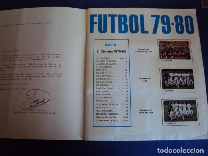 Coleccionismo deportivo: (AL-190304)ALBUM CROMOS FUTBOL 79-80 - 1ªDIVISION Y SELECCION NACIONAL - FALTAN 13 CROMOS - Foto 2 - 155923594