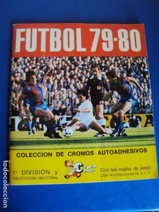 (AL-190304)ALBUM CROMOS FUTBOL 79-80 - 1ªDIVISION Y SELECCION NACIONAL - FALTAN 13 CROMOS (Coleccionismo Deportivo - Álbumes y Cromos de Deportes - Álbumes de Fútbol Incompletos)