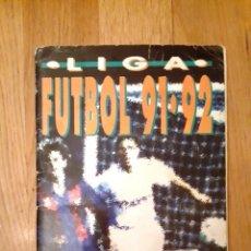 Coleccionismo deportivo: LIGA FÚTBOL 91-92 - BIMBO - CON 15 CROMOS DOBLES COMPLETO A FALTA DE 9 CROMOS. Lote 156464886