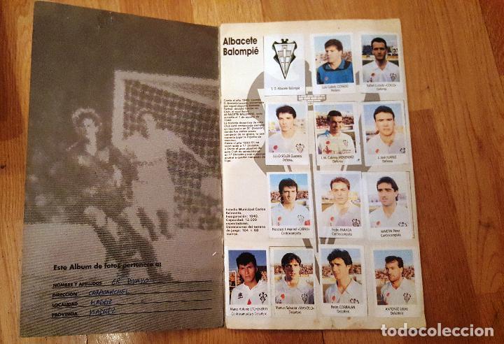 Coleccionismo deportivo: Liga Fútbol 91-92 - Bimbo - con 15 cromos dobles Completo a falta de 9 cromos - Foto 2 - 156464886