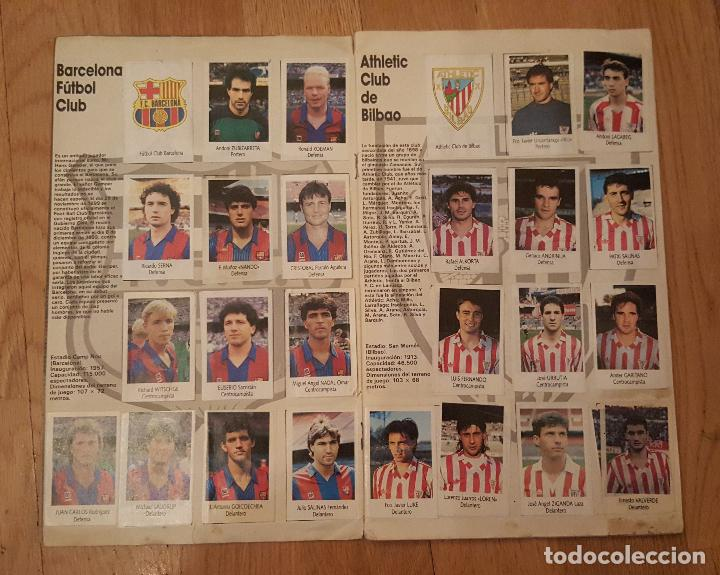 Coleccionismo deportivo: Liga Fútbol 91-92 - Bimbo - con 15 cromos dobles Completo a falta de 9 cromos - Foto 3 - 156464886