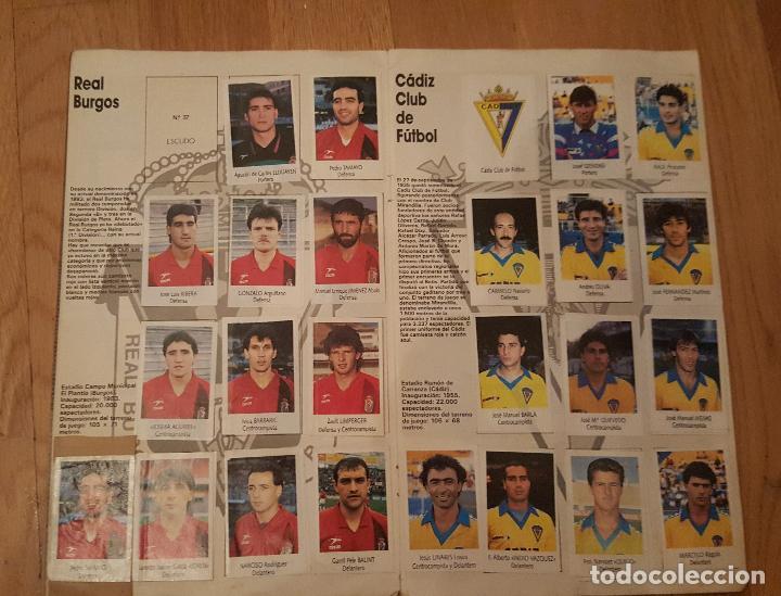 Coleccionismo deportivo: Liga Fútbol 91-92 - Bimbo - con 15 cromos dobles Completo a falta de 9 cromos - Foto 4 - 156464886